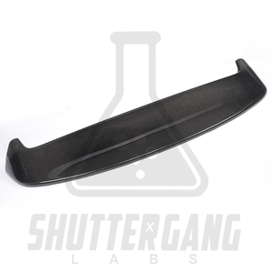 VW Golf Mk7 / Mk 7.5 GTI / GTD / R Carbon Fibre Simple Spoiler