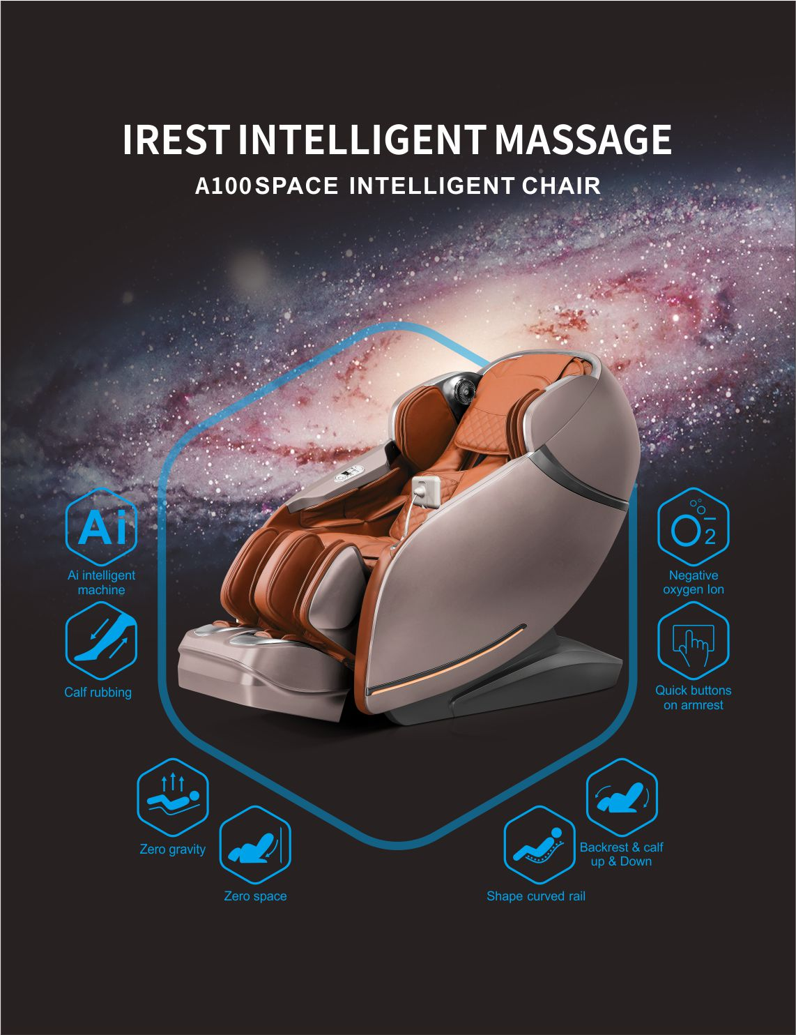 IREST MASSAGE CHAIR SL -A100 FROM WWW.MALLUAE.COM