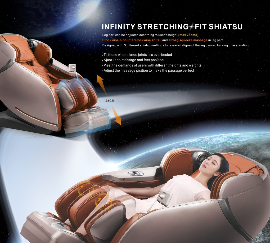 iRest Intelligent Massage Chair SL-A100 Best Chair 2019 Model Full Body Massage Zero Gravity Design Abs Cover