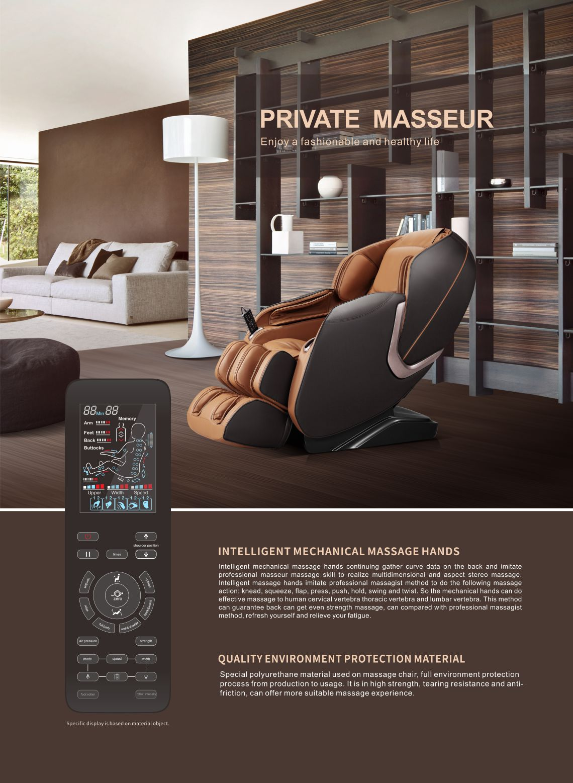 irest massage chair SL-A300 from www.malluae.com