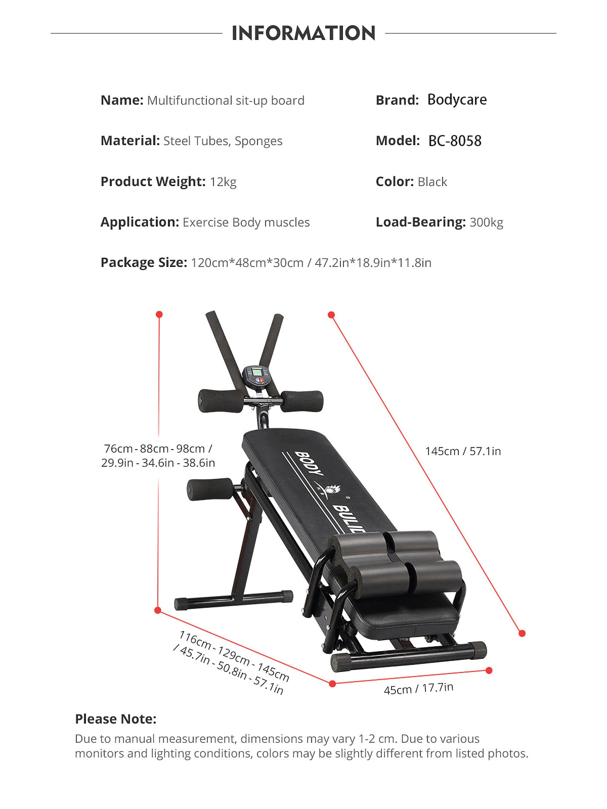 multifunction bench fitness pland