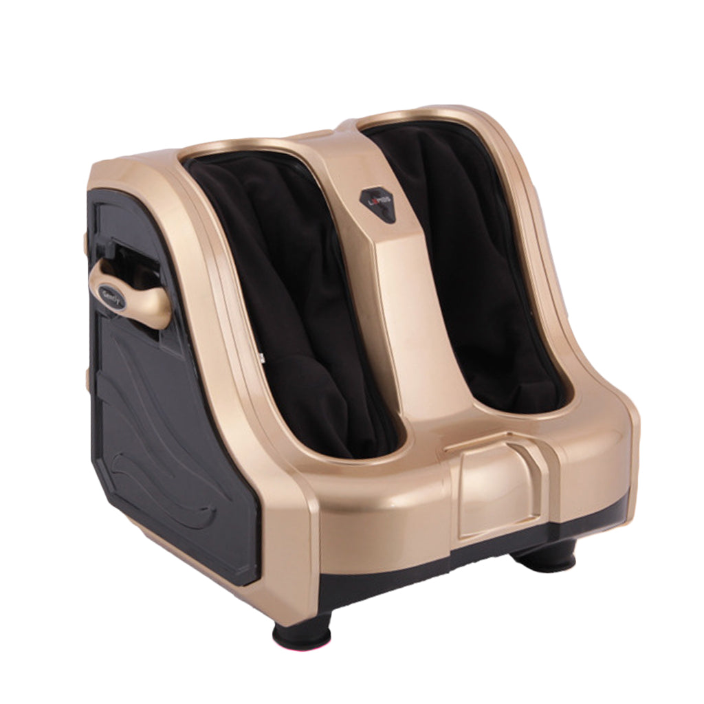 Leg and Foot massager Simulated hand massage and foot roller golden color M008