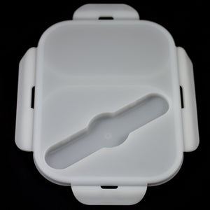 DOUBLE SECTION FOOD CONTAINER TOP