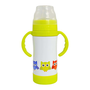 Insulated Stainless Steel Sippy Cup / Sippy Bottle - 10 oz
