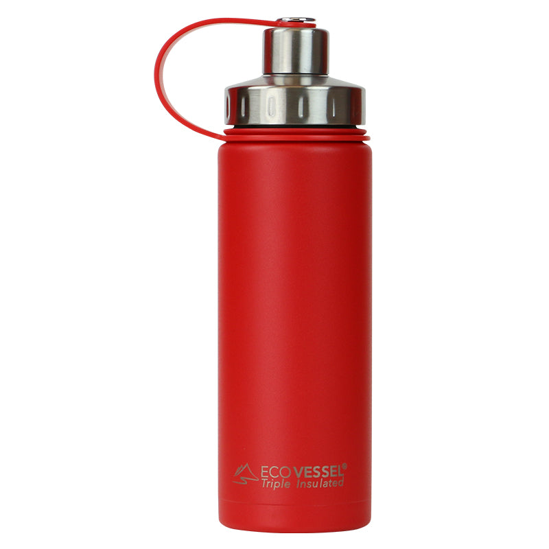 THE BOULDER - Insulated Water Bottle w/ Strainer - 20oz