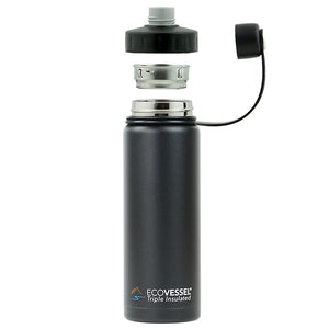 THE BOULDER - Insulated Water Bottle w/ Strainer - 20oz Water For People