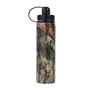 THE BOULDER - Insulated Water Bottle w/ Strainer - 24oz Mossy Oak