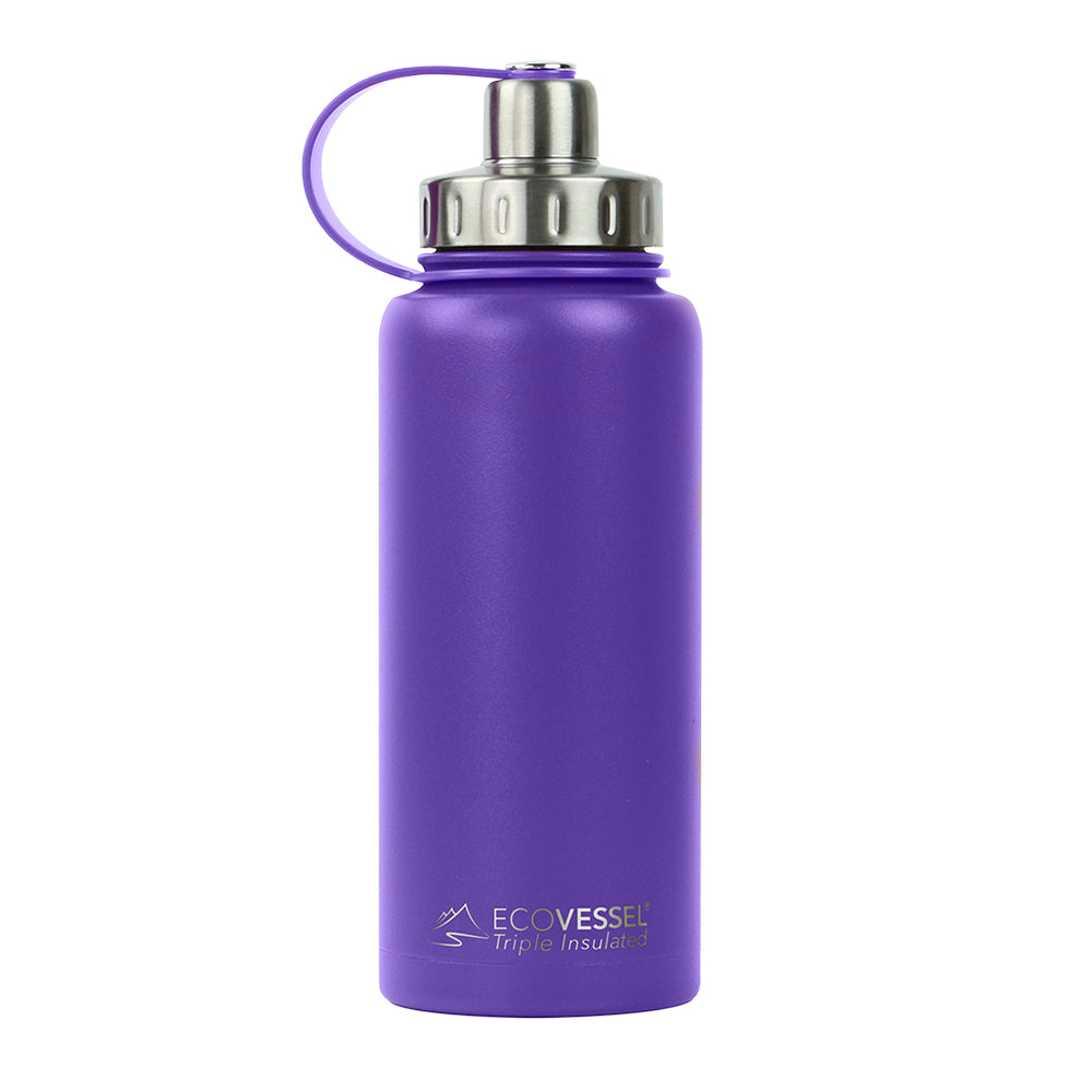 THE BOULDER - Insulated Water Bottle w/ Strainer - 32oz