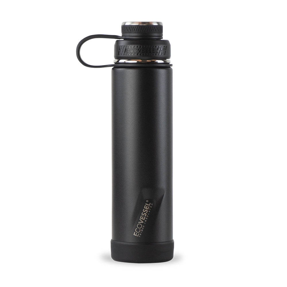 THE BOULDER Insulated Water Bottle with Strainer - 24 oz