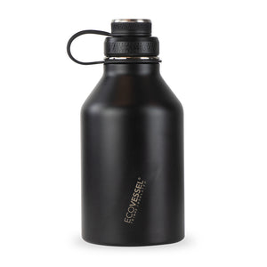 BOSS Triple Insulated Stainless Steel Growler Bottle with Infuser - 64 oz