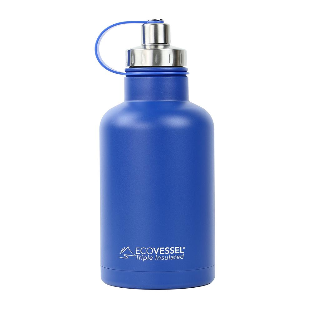 Vacuum Insulated Stainless Steel Beer Growler Bottle With
