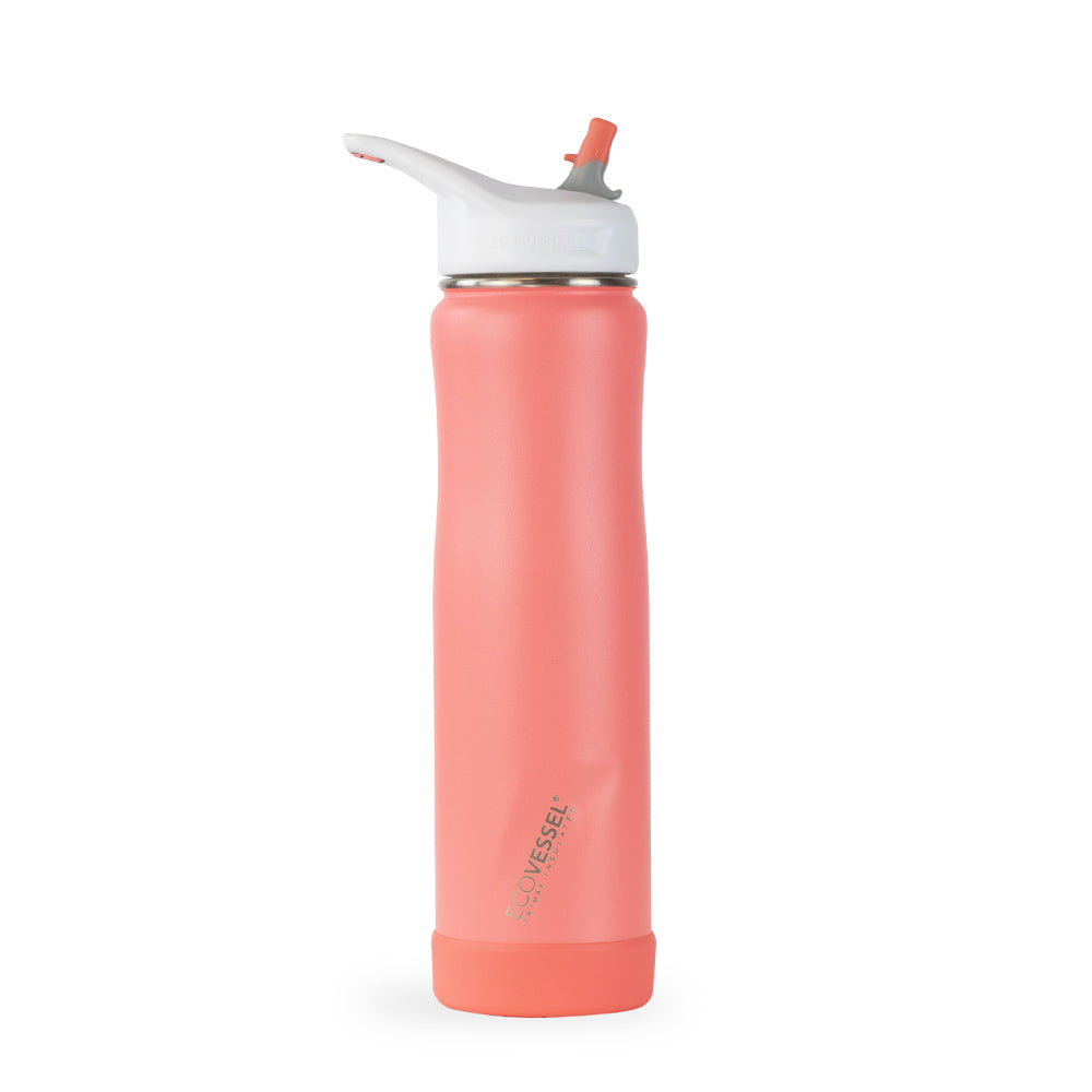 THE SUMMIT - Stainless Steel Insulated Water Bottle With Straw - 24oz