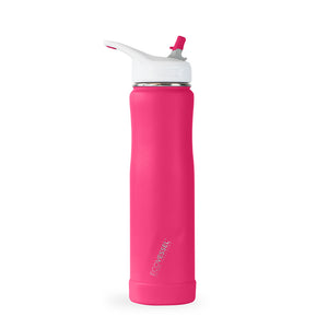 THE SUMMIT - Stainless Steel Insulated Straw Water Bottle - 24oz