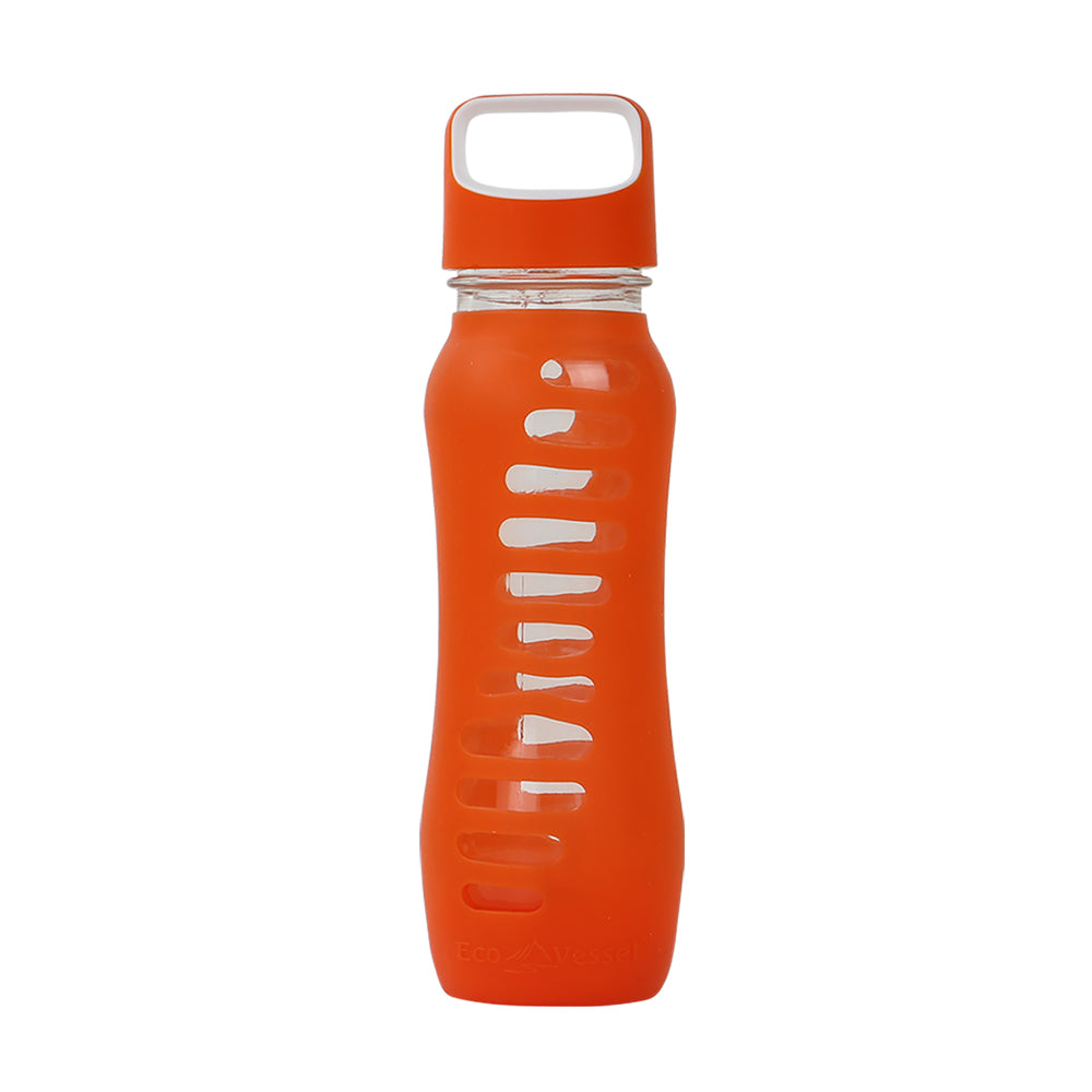 THE SURF - Glass Water Bottle with Loop Top - 22oz