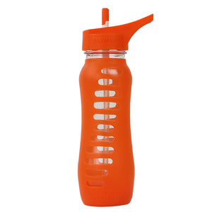 THE SURF - Glass Water Bottle With Straw - 22oz