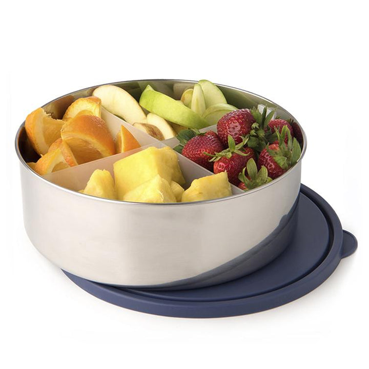 Divided Stainless Steel Big Bowl