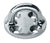Harken Industrial 76mm Polished Stainless Steel Round Standard Padeye