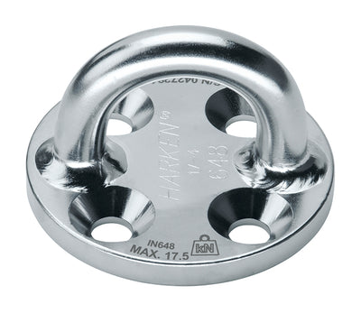 Harken Industrial 76mm Stainless Steel High-Load Round Standard Padeye