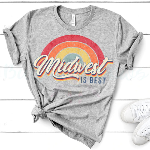 Midwest is best retro tee