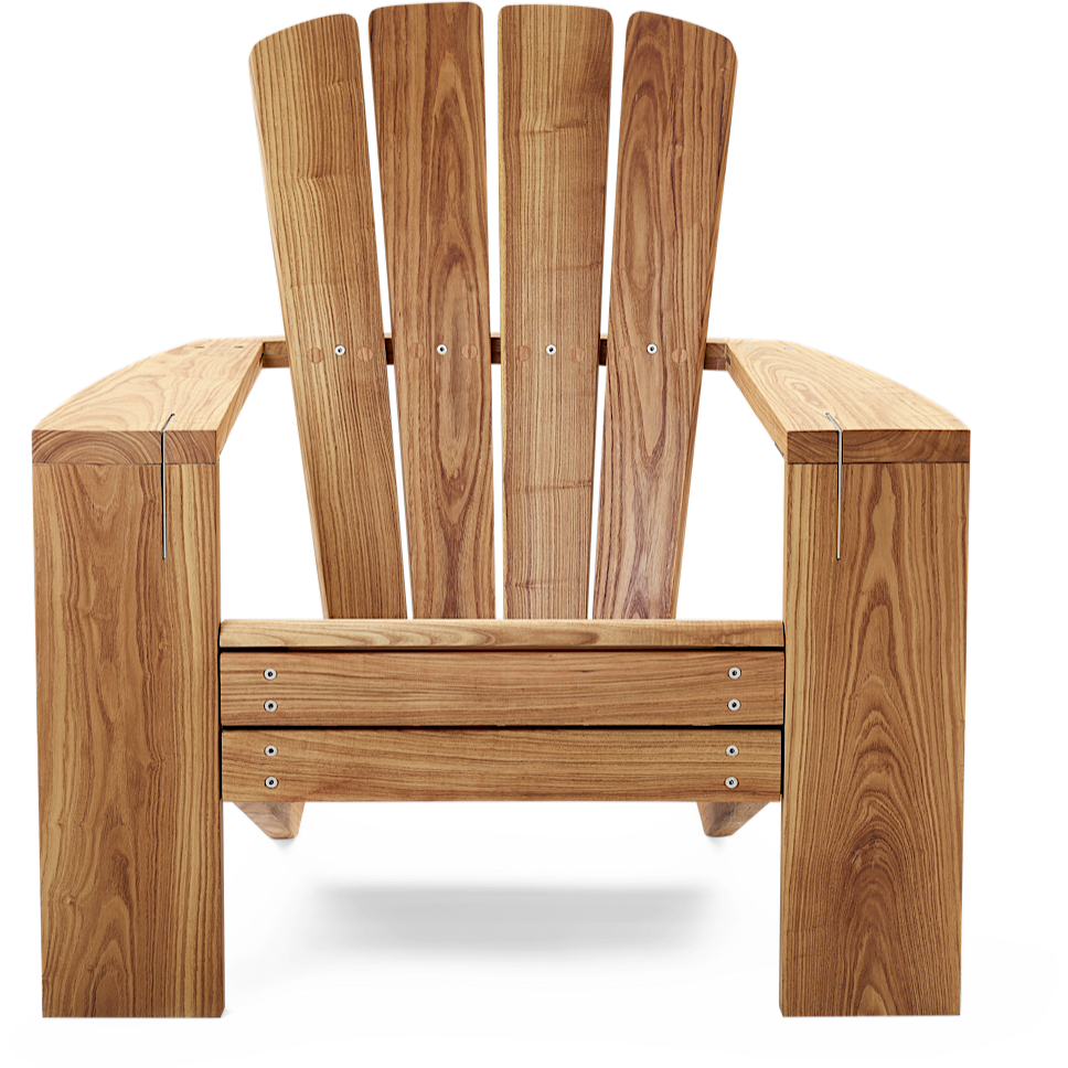 The Great Lakes Chair - Natural Oiled