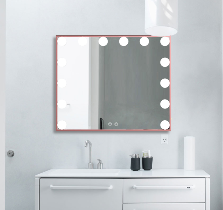 Day Dreaming Muse Rose Gold Classic Mirror