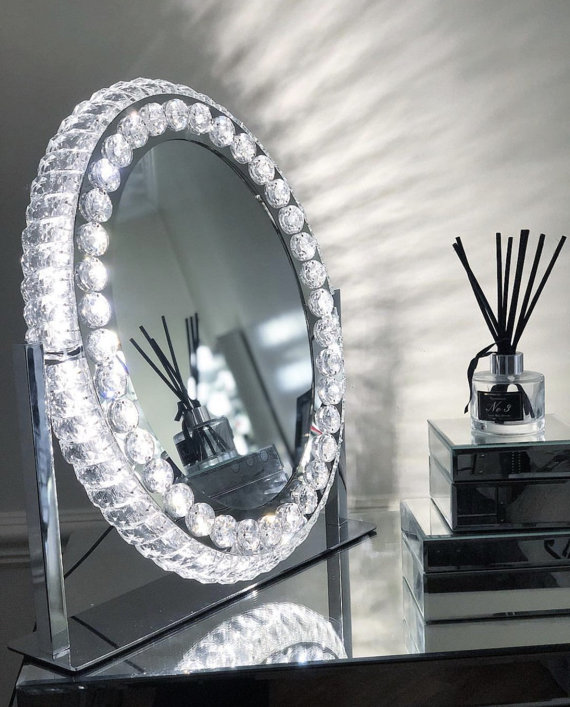 PRE-ORDER Queen's Vanity Jewelled Fortune Mirror