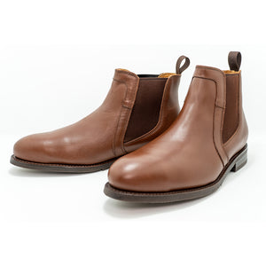 Chelsea Leather Steel Toe Boots - Oxford Steels