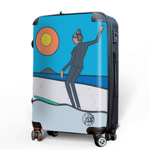 The Nancy - Singular Luggage Custom Luggage and Backpacks.  Design your own artwork decoration.