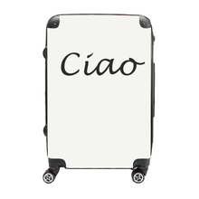 Ciao - Singular Luggage Custom Luggage and Backpacks.  Design your own artwork decoration.