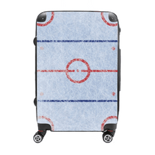 Ice Rink - Singular Luggage Custom Luggage and Backpacks.  Design your own artwork decoration.