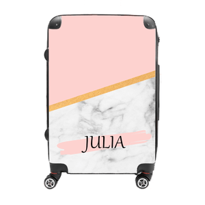 Julia- Customizable - Singular Luggage Custom Luggage and Backpacks.  Design your own artwork decoration.
