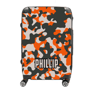 Phillip - Singular Luggage Custom Luggage and Backpacks.  Design your own artwork decoration.