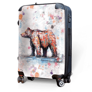 Bear - Singular Luggage Custom Luggage and Backpacks.  Design your own artwork decoration.