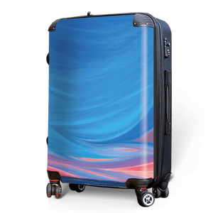 Sun-kissed Sky - Singular Luggage Custom Luggage and Backpacks.  Design your own artwork decoration.