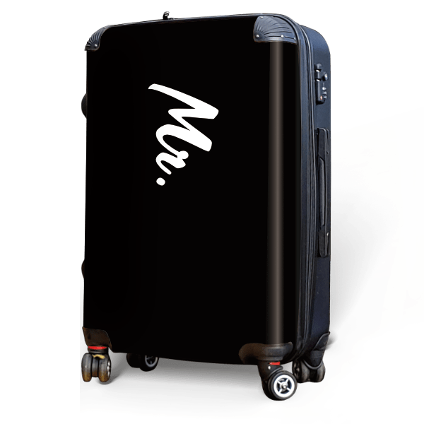 Mister - Singular Luggage Custom Luggage and Backpacks.  Design your own artwork decoration.