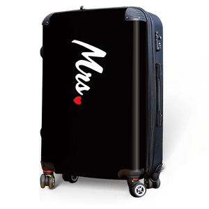Mrs. - Singular Luggage Custom Luggage and Backpacks.  Design your own artwork decoration.