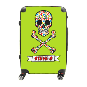 Splatter Paint Pirate - Singular Luggage