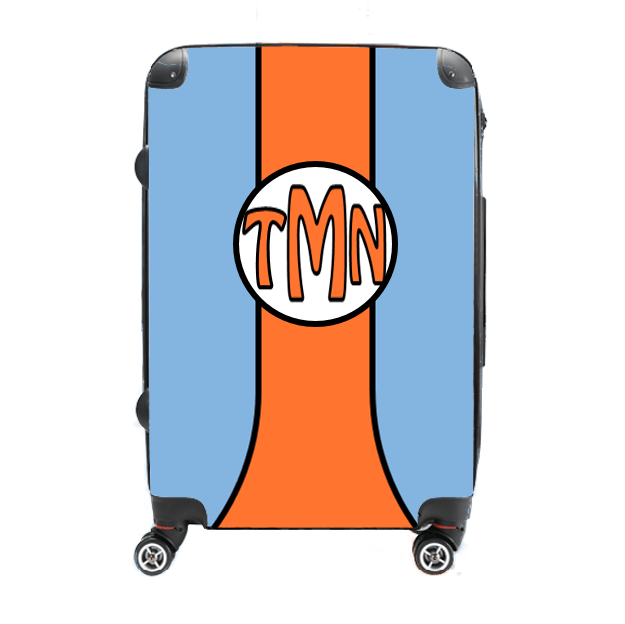 Speed Racer - Singular Luggage Custom Luggage and Backpacks.  Design your own artwork decoration.