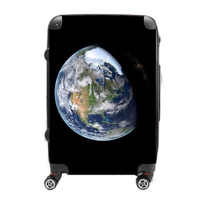 Earth Fade - Singular Luggage Custom Luggage and Backpacks.  Design your own artwork decoration.
