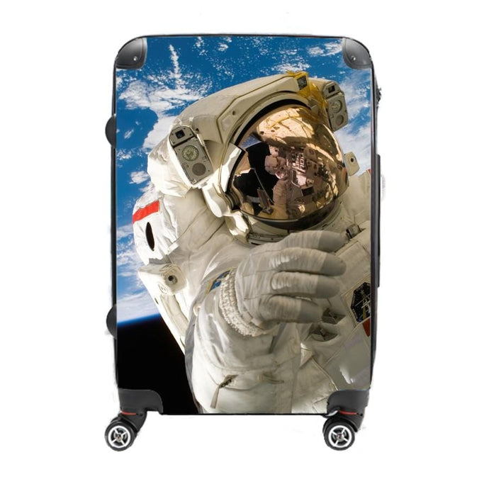 In Orbit - Singular Luggage Custom Luggage and Backpacks.  Design your own artwork decoration.