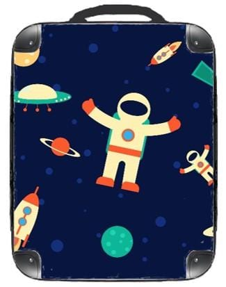 Space Backpack - Singular Luggage Custom Luggage and Backpacks.  Design your own artwork decoration.