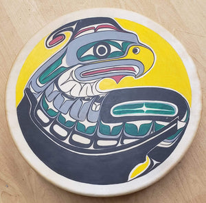 Manhousaht Thunderbird - Singular Luggage Custom Luggage and Backpacks.  Design your own artwork decoration.