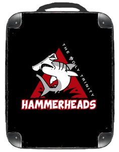 "Hammerheads Black 15"" Backpack - Singular Luggage Custom Luggage and Backpacks.  Design your own artwork decoration."