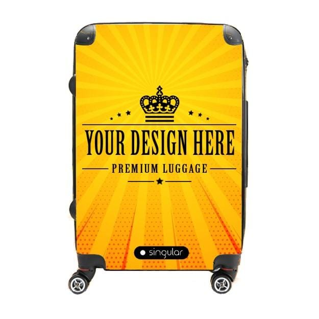 28 Personalized Luggage - Singular Luggage Custom Luggage and Backpacks.  Design your own artwork decoration.