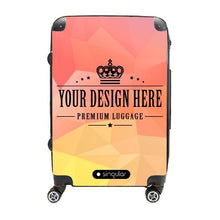 20 Personalized Cabin Luggage - Singular Luggage Custom Luggage and Backpacks.  Design your own artwork decoration.