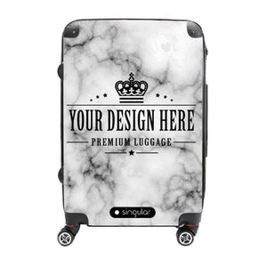 24 Personalized Luggage - Singular Luggage Custom Luggage and Backpacks.  Design your own artwork decoration.