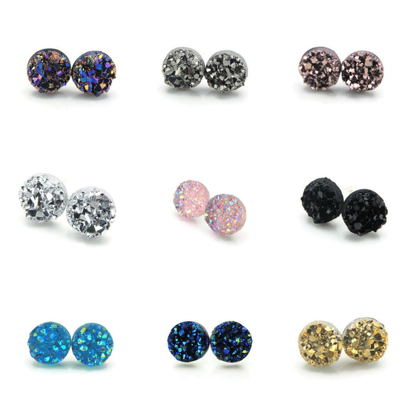 Smart Jewelry Earrings Plastic Post Nickel Free Hypoallergenic Non-Pierced Clip On Girls Fashion