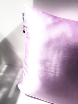 Silk Pillowcase - Lilac SILKLANDIA