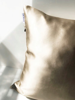 Silk Pillowcase - Sand SILKLANDIA