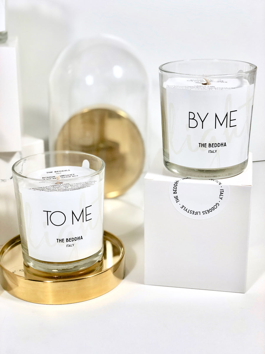 100% Soy Candles Duo - BY ME & TO ME